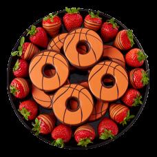 """""""Orange"""" Fruit and chocolate mix"""