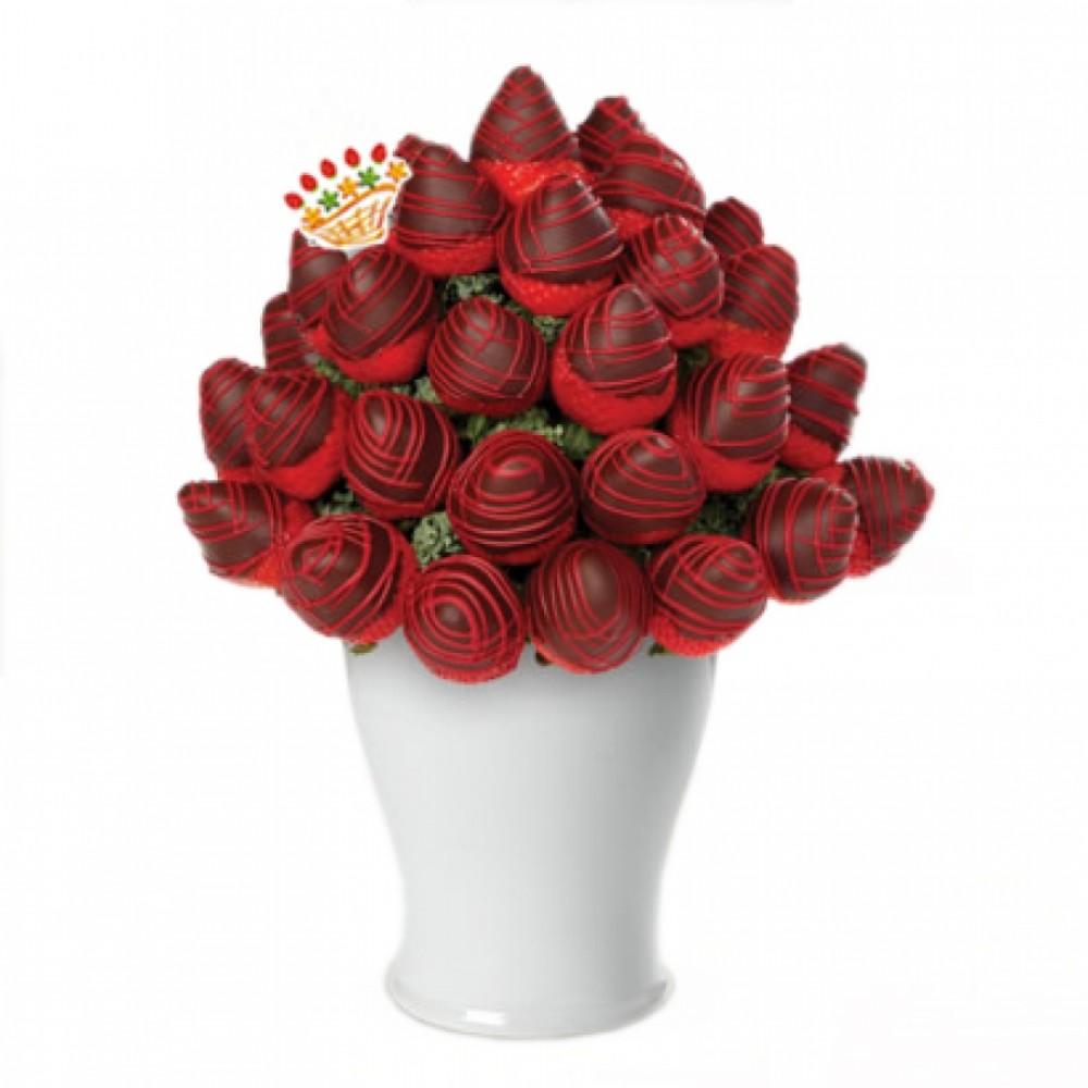 """Fruit bouquet """"Chocolate Thumbelina"""""""